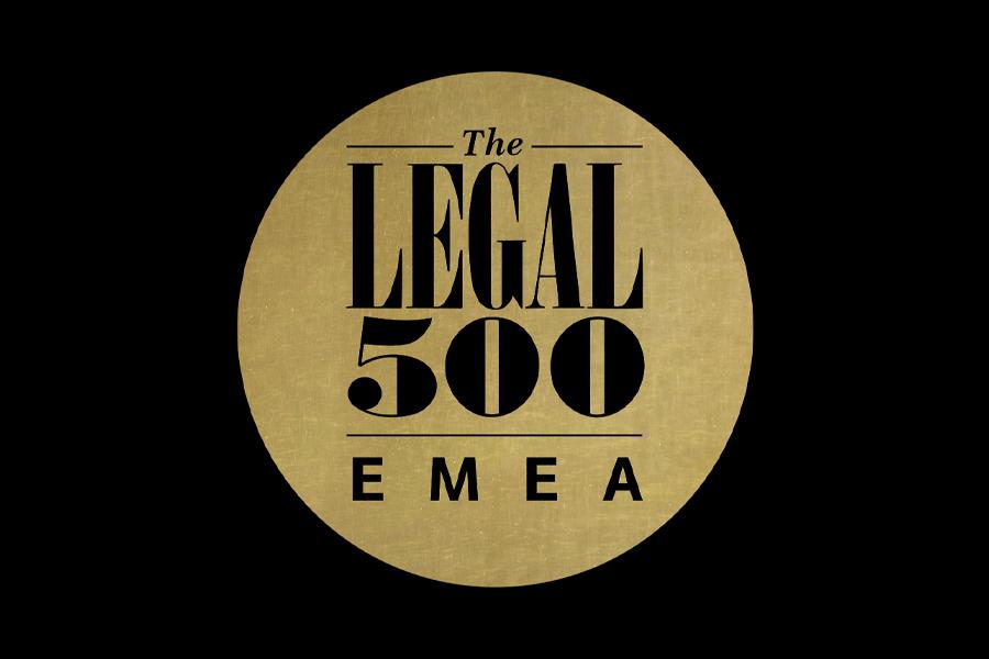 Legal 500 – 2021 Ranking
